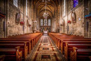 Kościół we śnie.